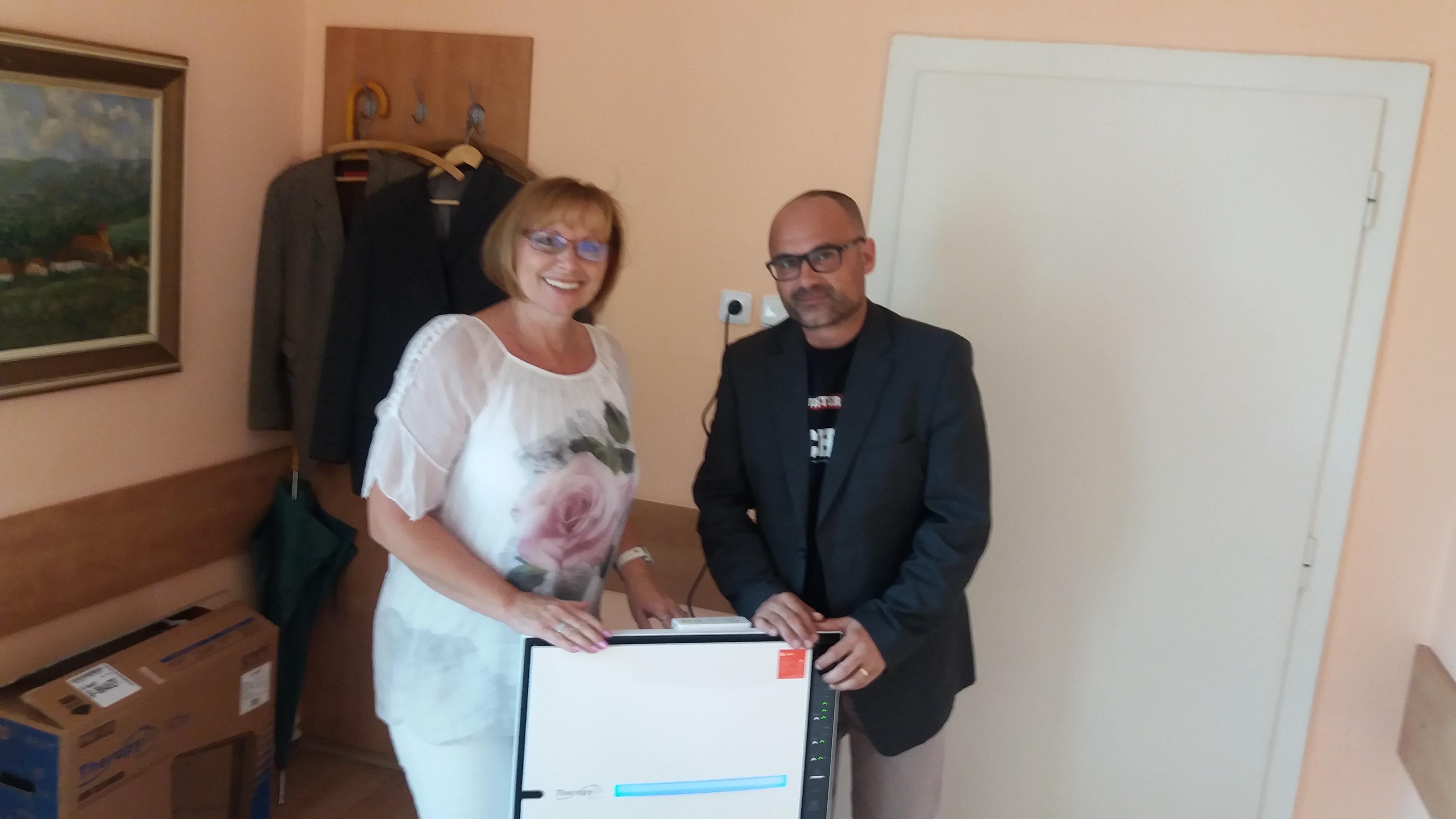 Darovali jsme čističku vzduchu do Domova důchodců Český Dub
