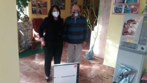 Čistička vzduchu v Domově seniorů Jankov