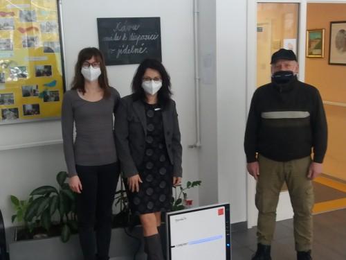 Předání čističky vzduchu